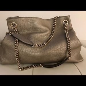 Gucci Bags - Gucci soho metallic interlocking -